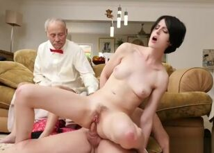 Old women anal