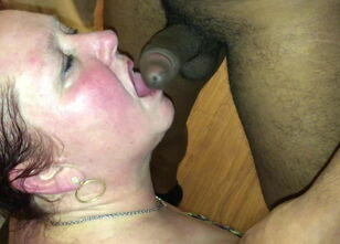 White wife sucking bbc